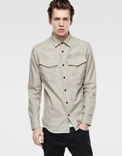 $180 Authentic Rare G-STAR RAW Men's Fitted Army Style Rovic Casual Shirt