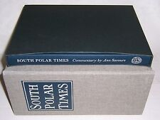 Folio Society SOUTH POLAR TIMES in 12 vols w/ Commentary volume