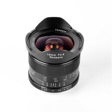 7artisans 12mm F2.8 Ultra Wide-Angle Lens for Fuji Fujifilm X Mount Mirrorless