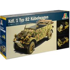 Italeri Kdf. 1 Typ 82 Kübelwagen Model Kit (Scale 1:9) - 7405 - NEW