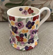 More details for disc,1st emmabridgewater 'tiny wallflower ' collectors ltd edition half pint mug