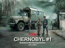 Icm 1/35 Chernobyl #1 rayonnement surveillance Station #35901