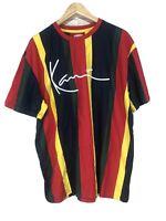 Men's NEW Kami European Color Block Crew Neck Premium Tee Shirt XL XLarge N42