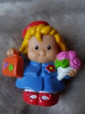 Fisher Price Little People Girl Passenger School Girl Toy Figure