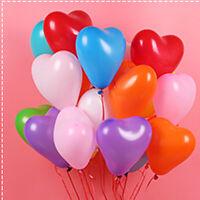 dons décor de mariage en forme de coeur les ballons de latex jouets gonflables