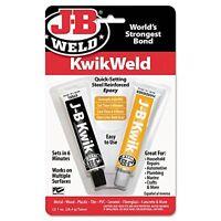 J-B Weld 8276 KwikWeld Quick Setting Steel Reinforced Epoxy - 2 oz