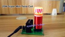 15V-24V 20W Mini Tesla Coil Arc Ignition Board Wireless Transmission Experiment