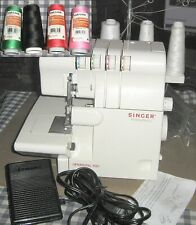 Singer Finishing Touch 14SH654 Overlock Serger,Tested,Working, +4 Thread Spools