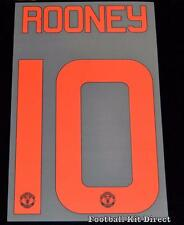 Manchester United Rooney 10 Champions League Name/Number orange 2015/16 cup