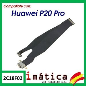FLEX DE CARGA PARA HUAWEI P20 PRO CONECTOR PUERTO USB TIPO C CABLE PLACA CABLE