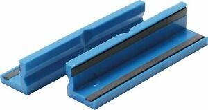 BGS Schraubstock Schutzbacken 2x Kunststoff Schonbacken 125 mm Magnet Backen
