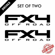 2x Ford STX DECAL FX4 4X4 OFF ROAD  Decal Graphics Vinyl Body Stickers Logo #306
