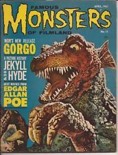 Famous Monsters Of Filmland #11 Gorgo Jekyll & Hyde Edgar Allen Poe Best Movies