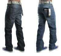 NEW MENS LATEST IN ENZO DESIGNER JEANS FREE BELT IN TWO COLOURS. REDUCED PRICE!!