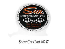 SUN TACH INSTRUMENTS DECAL,CHEVROLET OLDS PONTIAC BUICK FORD DODGE PLYMOUTH AMC