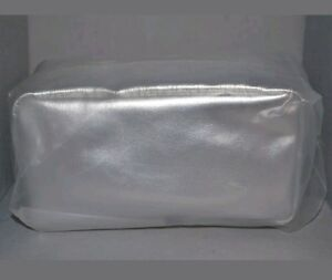 Bare Minerals Small Silver Make Up Bag New Sealed