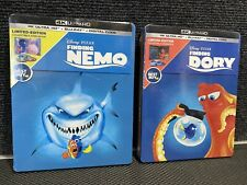 Finding Dory & Finding nemo 4K Ultra Hd/Blu-ray/Digital Limited Steelbook