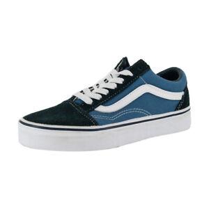 """Vans Off the Wall """"Old Skool"""" Sneakers (Navy) Men's Skateboarding Shoes"""