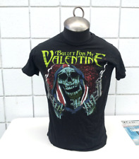 Bullet for My Valentine Shirt - Skeleton with Guns Graphic - Men's Small