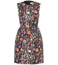 NWT Red Valentino Fancy Flower Dress sz 44 / 6 8 Floral $695 Fit & Flare