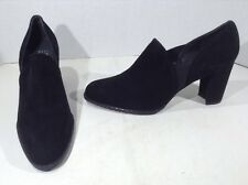 MIS-MATES STUART WEITZMAN Corral Womens Sz 9 L M R N Black Heels Shoes ZH-1964