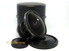 VERY RARE OLYMPUS OM ZUIKO AUTO FISHEYE 8MM F2.8 CAMERA LENS *NR MINT CONDITION*