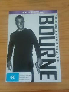 BOURNE The Ultimate 5 Film Collection DVD Hours of Bonus Features