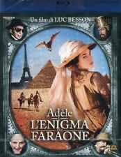 ADELE E L'ENIGMA DEL FARAONE UN FILM DI LUC BESSON (BLU-RAY) NUOVO, ITALIANO