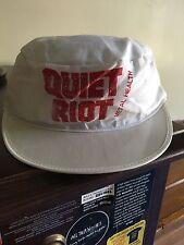 Vintage 1983 Quiet Riot Metal Health Tour Souvenir Hat (Lp Cd) Road Rage Dubrow
