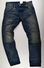 G-Star RAW, Elwood RL 5620 3D Tapered Jeans, W34 L36 Blau DK Aged Herrenjeans
