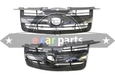 MAZDA BT50 11/2006-6/2008 GRILLE SILVER & CHROME