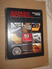 Automotive Mechanics by William H. Crouse (1980, Hardcover, Illustrated, 8th Edi