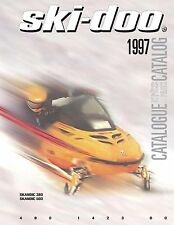 Ski-Doo parts manual catalog book 1997 SKANDIC 380 & 1997 SKANDIC 500