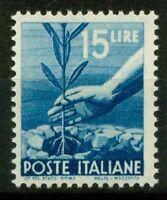 Italia Repubblica 1945 Sass. 560 Nuovo ** 100% Democratica