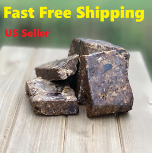 Raw African Black Anago Soap Organic 100% Pure From Ghana Fast Free Shipping ABS