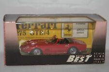FERRARI 275 GTB SPYDER 1/43  BEST