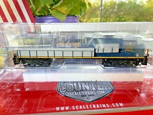 ScaleTrains Rivet Counter GE ES44AH GEVO CSX 870 DCC Sound Loksound V5.