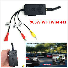 903W WiFi Wireless Car Backup Camera  Video Rearview Transmitter iPhone Android