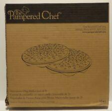 Pampered Chef Microwave Chip Maker Item #1241 Apple Potato Yucca Veggie & More