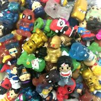 """Ooshies Pencil Toppers - Random 10pcs DC Comics/Marvel 1.5"""" Figure Gift Doll Toy"""