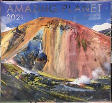 Amazing Planet 2021 16-month Full Size Wall Calendar