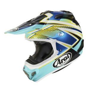 Arai MX-V Day Blue MXV Motocross Offroad MX Race Helmet Adults