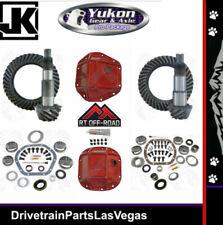 Jeep Wrangler JK Dana 44 30 Re-Gear Ring Pinion Yukon HD Covers Master Kits 4.88