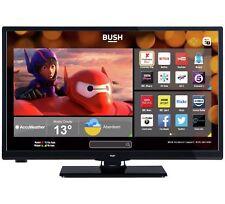 Bush 24 Inch HD Ready 720p Freeview Play Smart LED WiFi TV/DVD Combi - Black