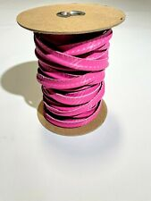 Pink Flamingo Marine Vinyl Welt Cord Piping Outdoor Automotive Upholstery Bty