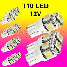 15 x T10 12V LED Interior Car Auto 5SMD Light Lamp Bulb White Dome Globe Lights
