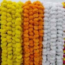 20PC Lot Indian Marigold Artificial Wedding Flower Marigolds Artificial Flowers