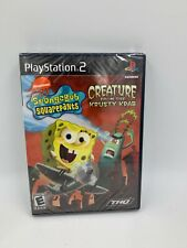 SpongeBob Squarepants: Creature from Krusty Krab Playstation 2 (PS2) NTSC U/C