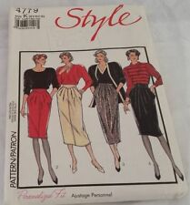 Style Cut Skirt Sewing Patterns