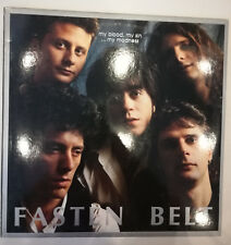 Fasten Belt ‎– My Blood, My Sin... My Madness LP Italy 1990 High Rise VG+/NM